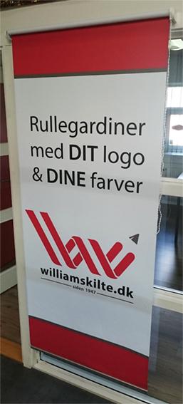 Rullegardiner_med_tryk_William_Skilte