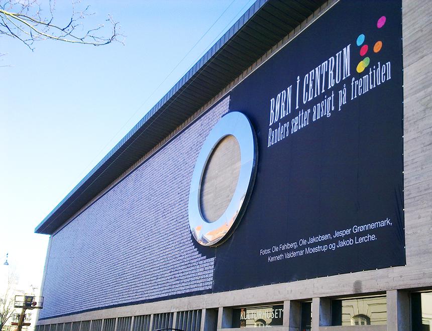Banner til Randers kulturhus